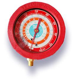 liquid filled r134a gauge,replacement gauge